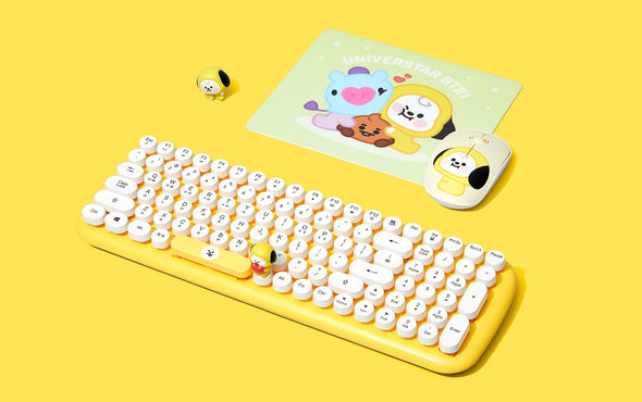 COKODIVE Chimmy BT21 X ROYCHE WIRELESS KEYBOARD VER.2