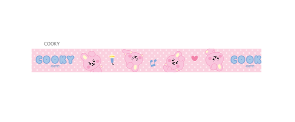COKODIVE COOKY BT21 X MONOPOLY BABY NECK STRAP
