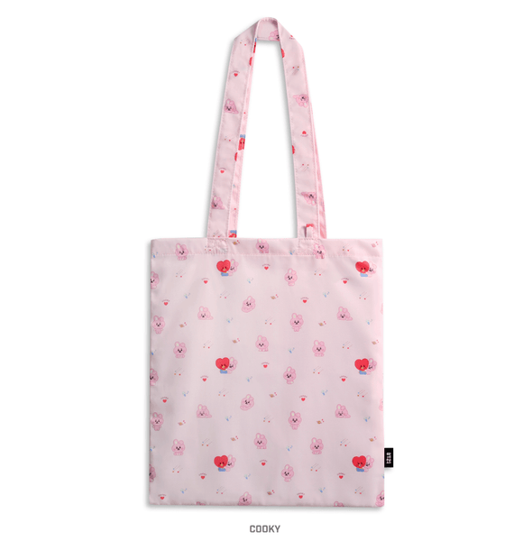 COKODIVE COOKY BT21 X MONOPOLY BABY PATTERN ECO BAG