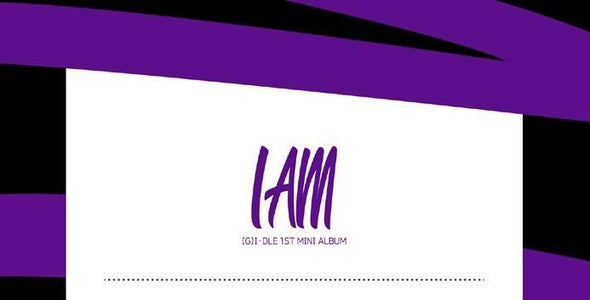 COKODIVE (G)I-DLE - 1ST MINI ALBUM [I AM]