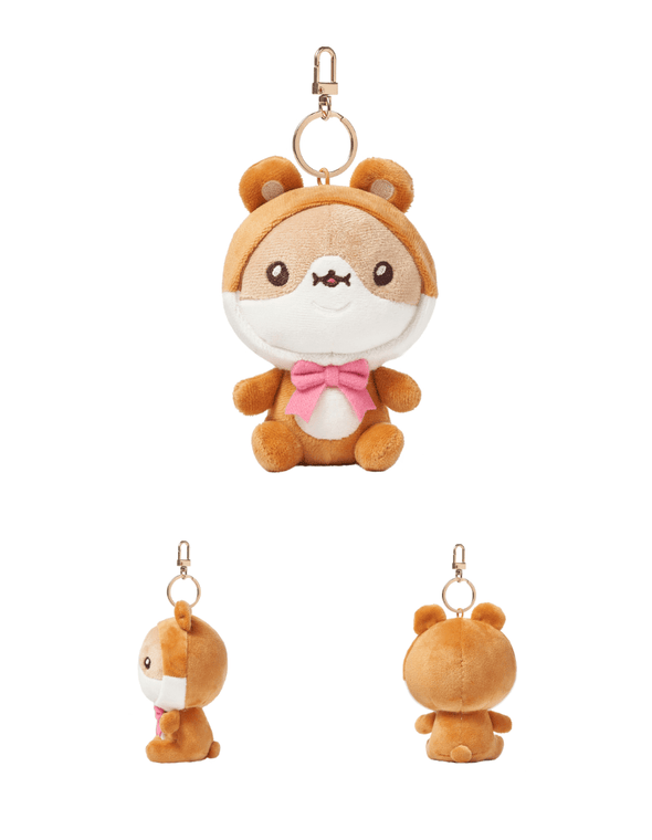 COKODIVE HAMGOM [PRE-ORDER] TWOTUCKGOM X MOSTA X ANIMAL COSTUME KEYRING