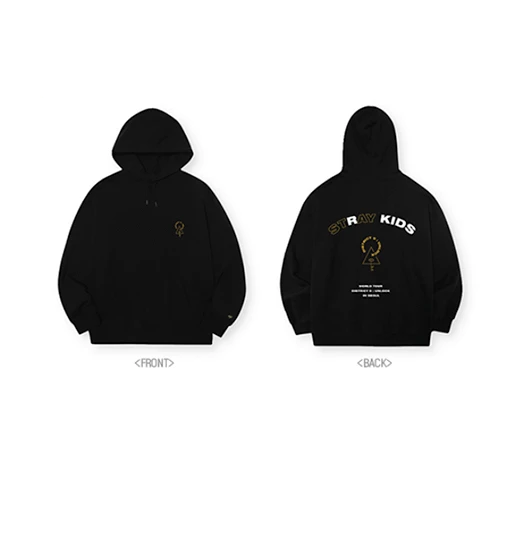 COKODIVE Hoodie Free Size [PRE-ORDER] STRAY KIDS WORLD TOUR DISTICT 9 : UNLOCK IN SEOUL OFFICIAL MD