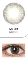 COKODIVE IDOL Olive Green Monthly/2p MTPR X BTS COLOR LENS