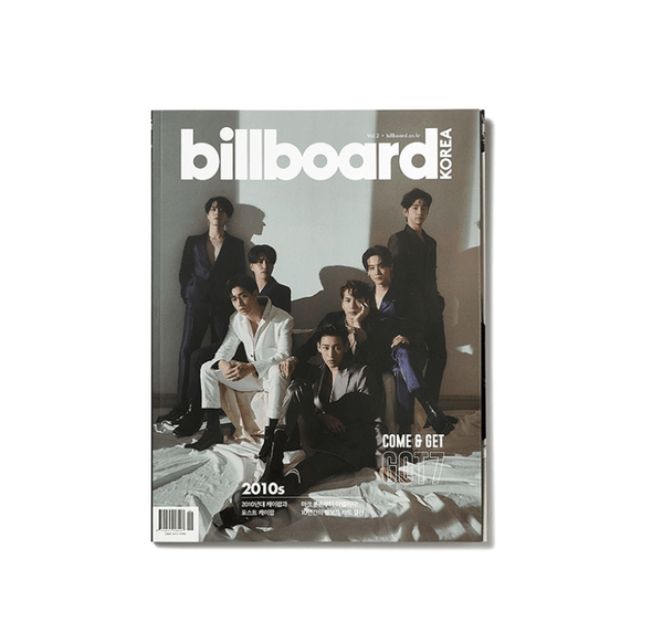 COKODIVE KOREAN ver. BILLBOARD KOREA MAGAZINE VOL.2 [GOT7 COVER]