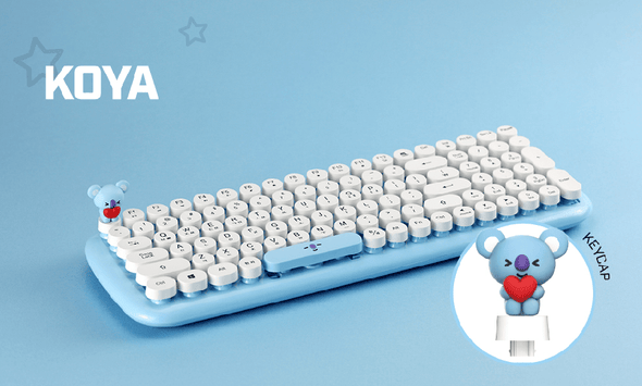 COKODIVE Koya BT21 X ROYCHE WIRELESS KEYBOARD VER.2
