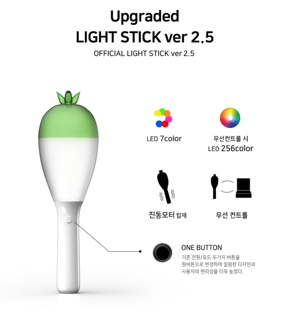 COKODIVE MAMAMOO - OFFICIAL LIGHT STICK VER.2.5