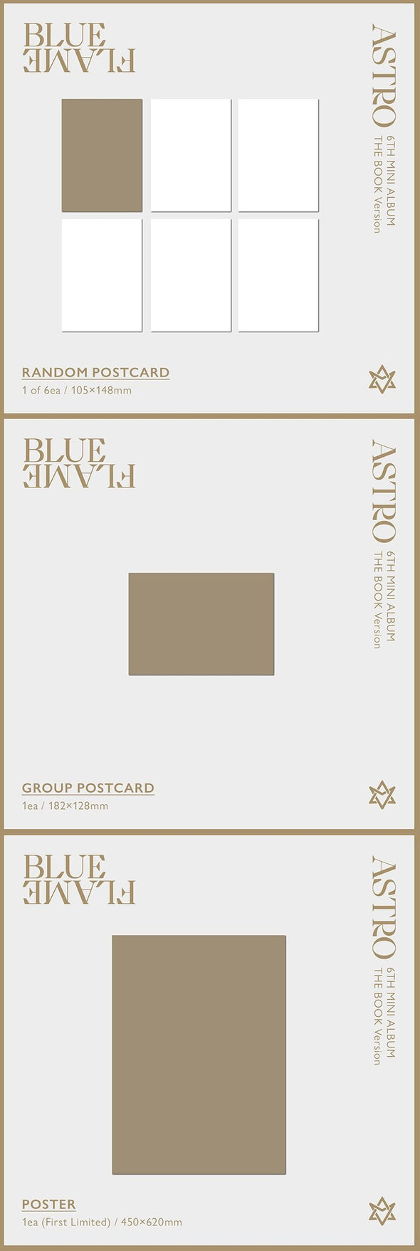 COKODIVE [PRE-ORDER] ASTRO - 6TH MINI ALBUM [BLUE FLAME]