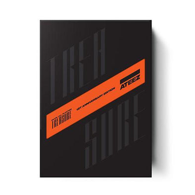 COKODIVE [PRE-ORDER] ATEEZ - 1ST OFFICIAL ALBUM [TREASURE EP.FIN : ALL TO ACTION] 1ST ANNIVERSARY EDITION VER.