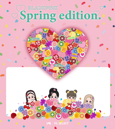 COKODIVE [PRE-ORDER] BLACKPINK - YGBOX8 [SPRING EDITION] MD