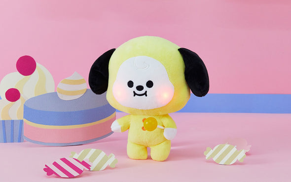 COKODIVE [PRE-ORDER] BT21 BABY LIGHT UP CHEEKS STANDING DOLL