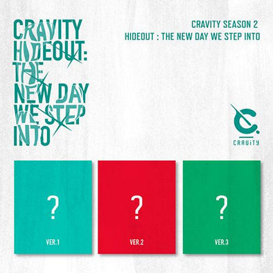 COKODIVE [PRE-ORDER] CRAVITY - ALBUM [SEASON2 HIDEOUT : THE NEW DAY WE STEP INTO]