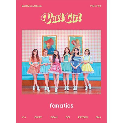 COKODIVE [PRE-ORDER] FANATICS - WND MINI ALBUM [PLUS TWO]