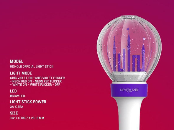 COKODIVE [PRE-ORDER] (G)I-DLE - OFFICIAL LIGHT STICK