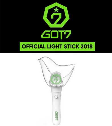 COKODIVE [PRE-ORDER] GOT7 - 2018 OFFICIAL AHGABONG  VER. 2 LIGHT STICK