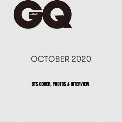 COKODIVE [PRE-ORDER] GQ JAPAN 2020年 10月號 [BTS COVER]