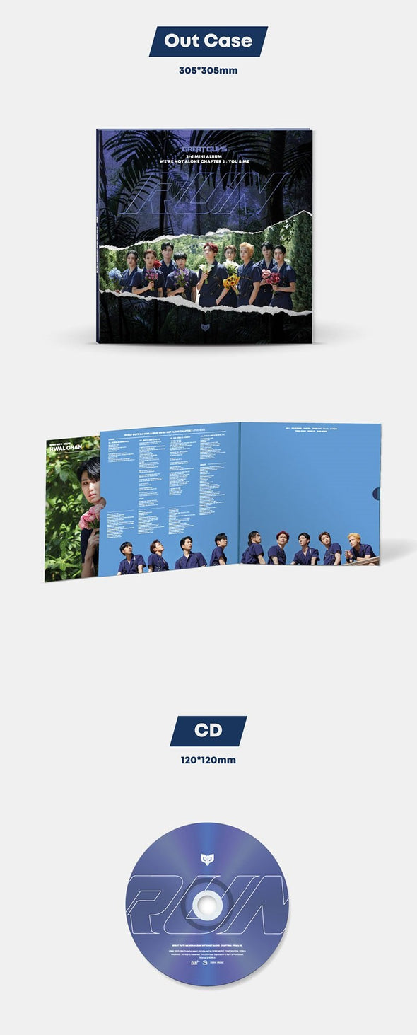 COKODIVE [PRE-ORDER] GREATGUYS - 3RD MINI ALBUM [WE'RE NOT ALONE_CHAPTER2 : YOU&ME]