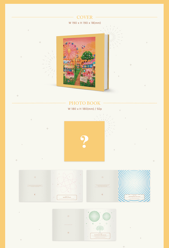 COKODIVE [PRE-ORDER] GWSN - 3RD MINI ALBUM [THE PARK IN THE NIGHT PART THREE]