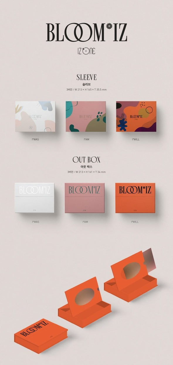 COKODIVE [PRE-ORDER] IZ*ONE - 1ST OFFICIAL ALBUM [BLOOM*IZ]