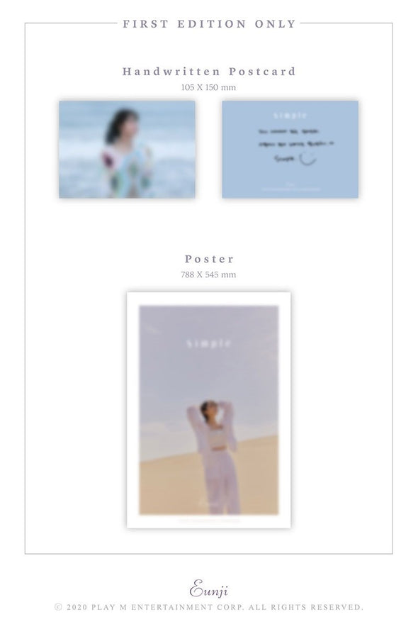 COKODIVE [PRE-ORDER] JUNG EUNJI - 4TH MINI ALBUM [SIMPLE]