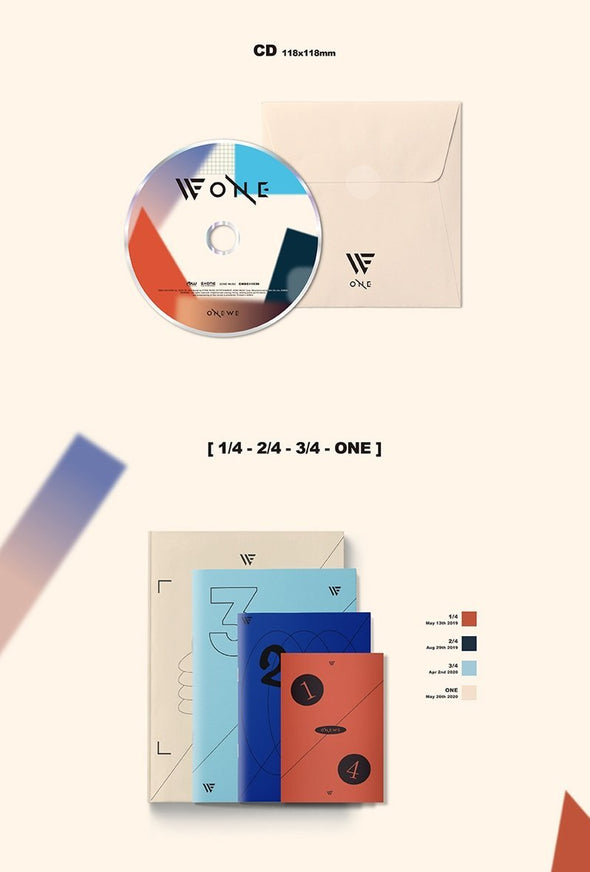 COKODIVE [PRE-ORDER] ONEWE - 1ST FULL ALBUM [ONE]