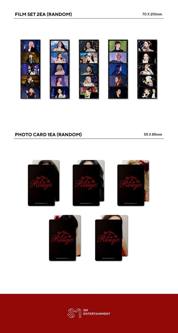 COKODIVE [PRE-ORDER] RED VELVET - 3RD CONCERT PHOTO BOOK [LA ROUGE]