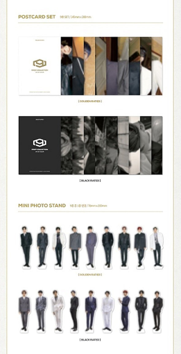 COKODIVE [PRE-ORDER] SF9 - 1ST OFFICIAL ALBUM [1ST COLLECTION]