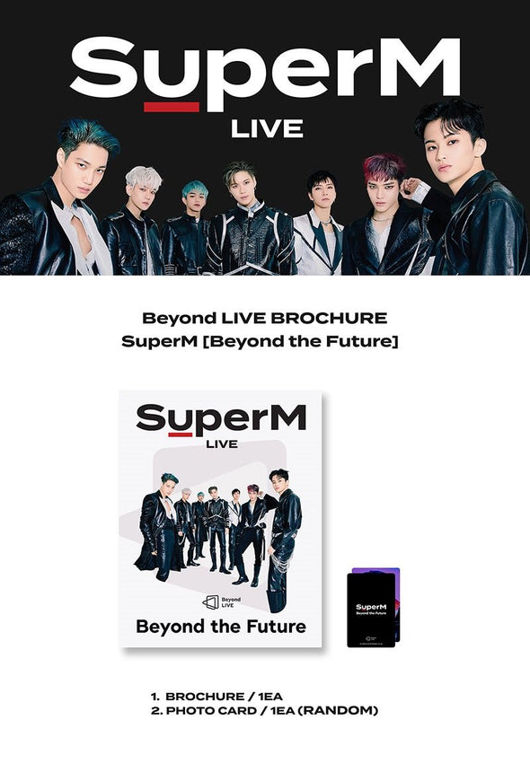 COKODIVE [PRE-ORDER] SUPERM - BEYOND LIVE BROCHURE [BEYOND THE FUTURE]