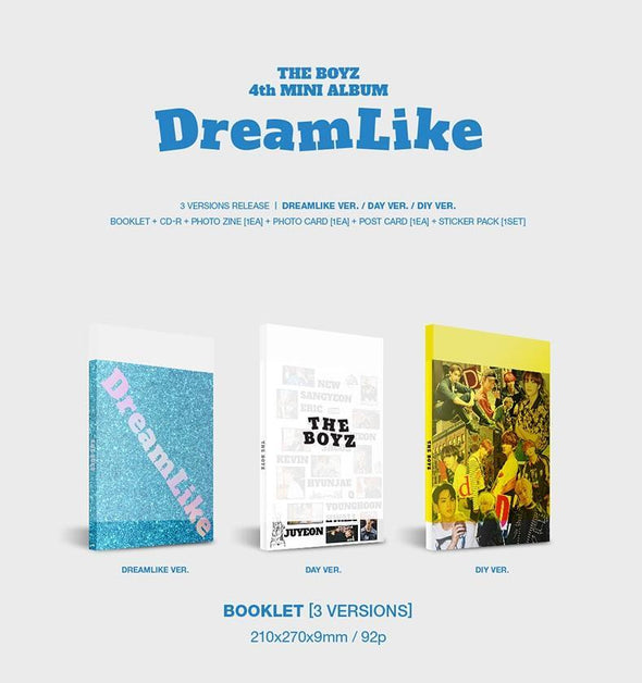 COKODIVE [PRE-ORDER] THE BOYZ - 4TH MINI ALBUM [DREAMLIKE]