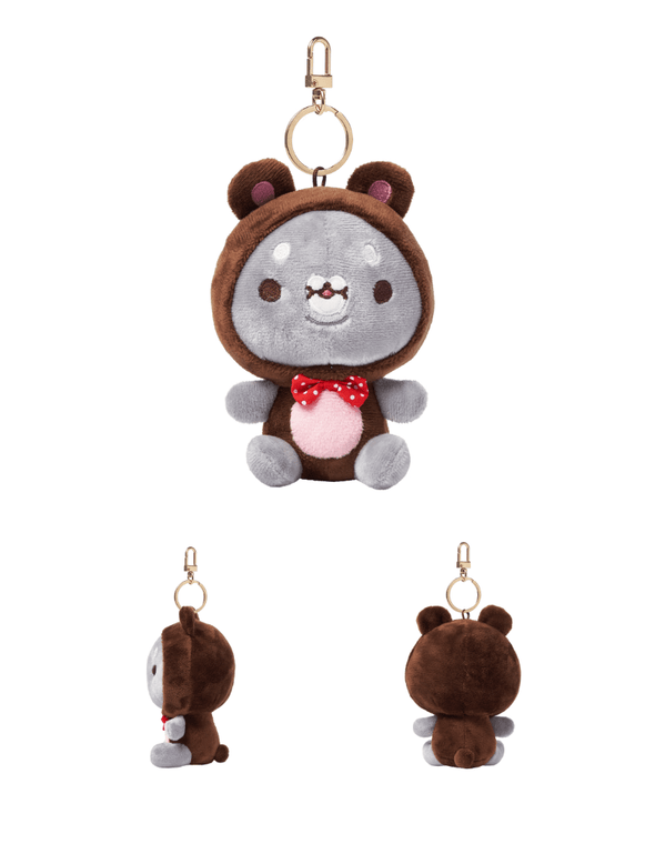 COKODIVE [PRE-ORDER] TWOTUCKGOM X MOSTA X ANIMAL COSTUME KEYRING