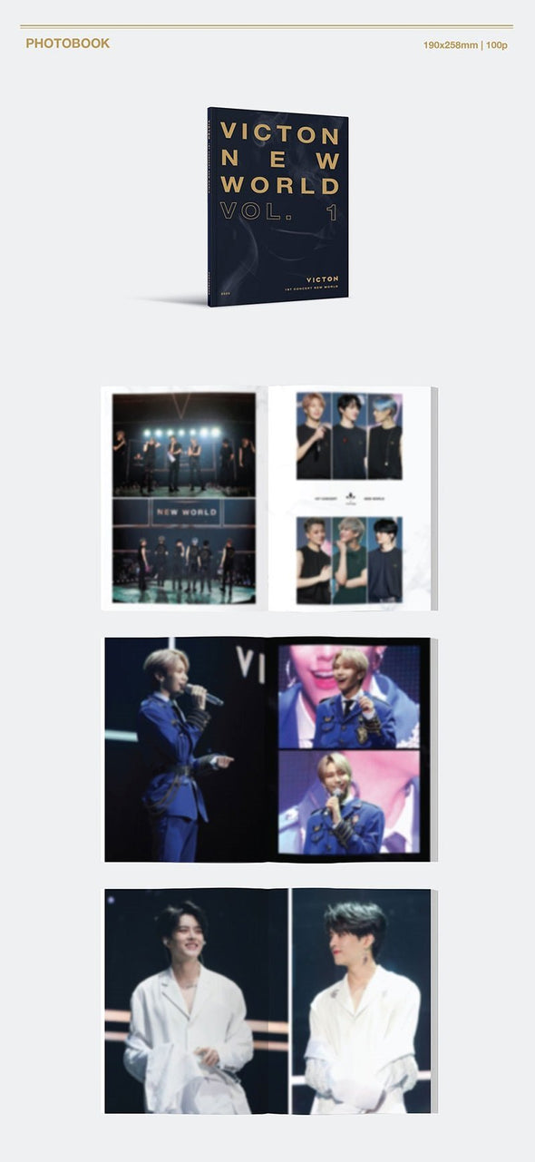COKODIVE [PRE-ORDER] VICTON - 1ST CONCERT [NEW WORLD] DVD