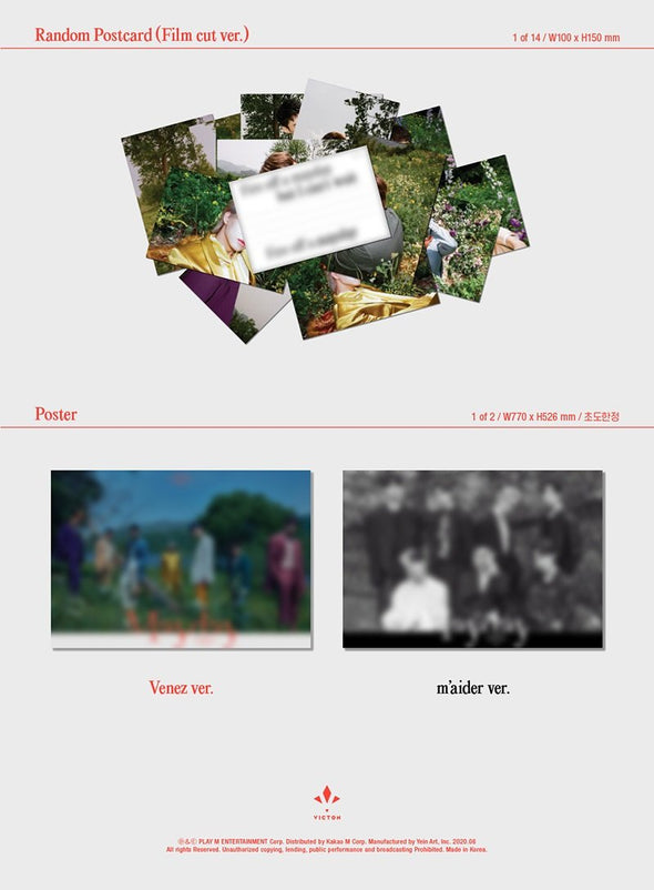 COKODIVE [PRE-ORDER] VICTON - 2ND SINGLE ALBUM [MAYDAY]