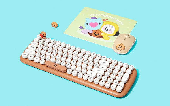 COKODIVE Shooky BT21 X ROYCHE WIRELESS KEYBOARD VER.2