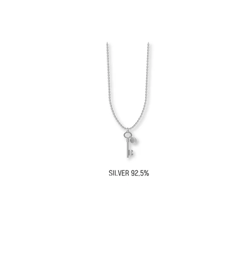 COKODIVE Silver Necklace [PRE-ORDER] STRAY KIDS WORLD TOUR DISTICT 9 : UNLOCK IN SEOUL OFFICIAL MD
