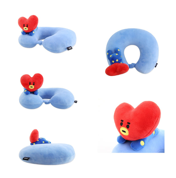 COKODIVE TATA BT21 SOFT NECK PILLOW