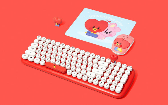 COKODIVE Tata BT21 X ROYCHE WIRELESS KEYBOARD VER.2