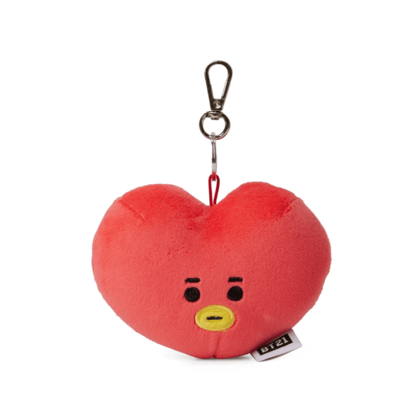 COKODIVE TATA [PRE-ORDER] BT21 BABY LIGHT UP CHEEKS BAG CHARM DOLL