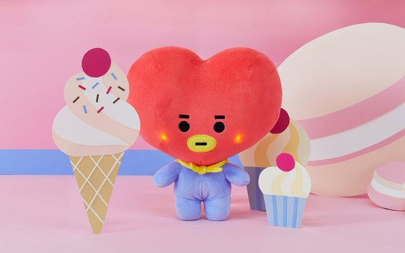 COKODIVE TATA [PRE-ORDER] BT21 BABY LIGHT UP CHEEKS STANDING DOLL
