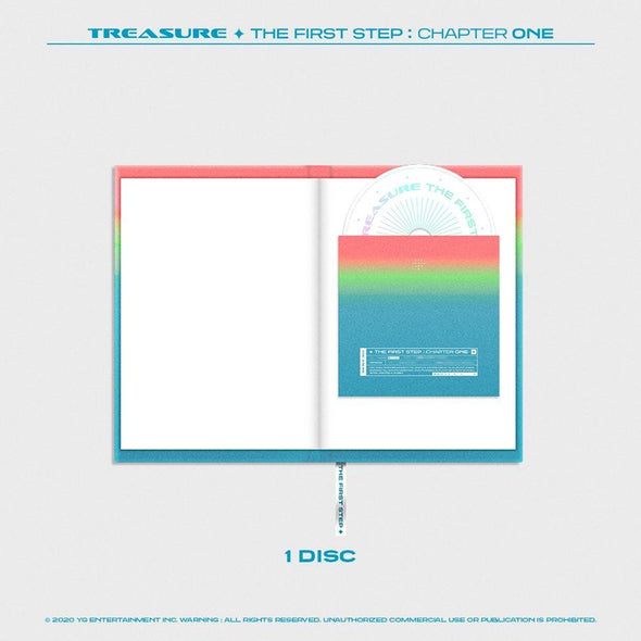 COKODIVE TREASURE - 1ST SINGLE ALBUM [THE FIRST STEP : CHAPTER ONE]