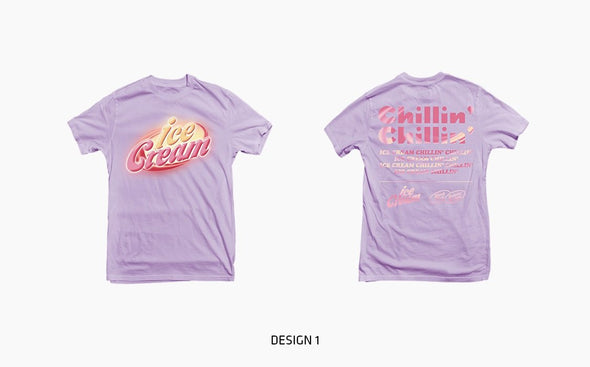 COKODIVE TYPE1_DESIGN 1 / M [PRE-ORDER] BLACKPINK - OFFICIAL MD [ICECREAM] 2ND CLOTHES LINE