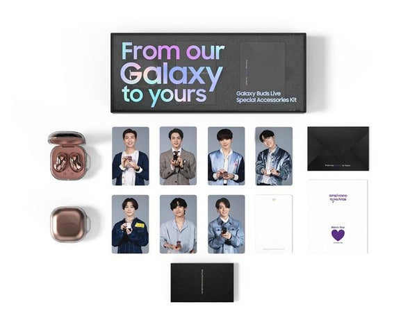 COUPANG SAMSUNG X BTS GALAXY BUDS LIVE SPECIAL ACCESSORY KIT