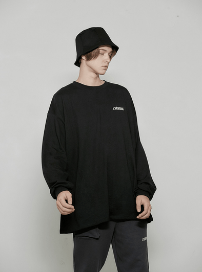 DWS COMPANY LHERITAGE LONG SLEEVE T-SHIRT (BLACK)