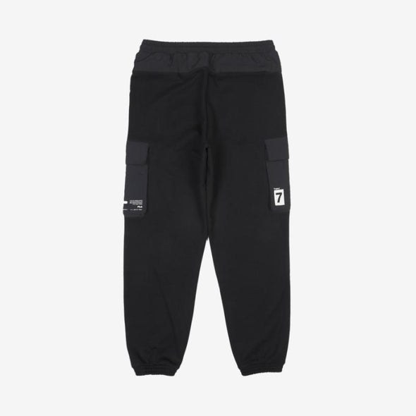 FILA BLACK 80 BTS X FILA PROJECT 7 CLOTHES : CARGO JOGGER PANTS