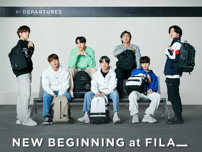 FILA BTS X FILA 2021 NEW SEMESTER [NEW BEGINNING AT FILA] BACKPACK