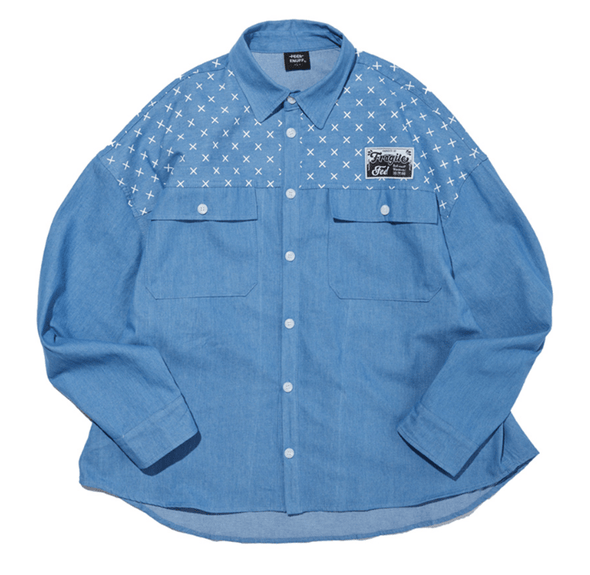 http://feelenuff.com/ [PRE-ORDER] FEEL ENUFF ORIGIN DENIM SHIRTS