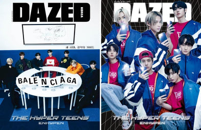 KYOBO ALL(A+B) [PRE-ORDER] DAZED & CONFUSED MAGAZINE FEBRUARY 2021 ENHYPEN COVER