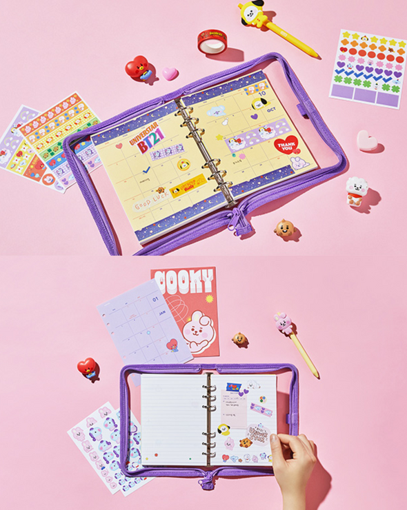 LINE FRIENDS BT21 BABY 2021 DIARY