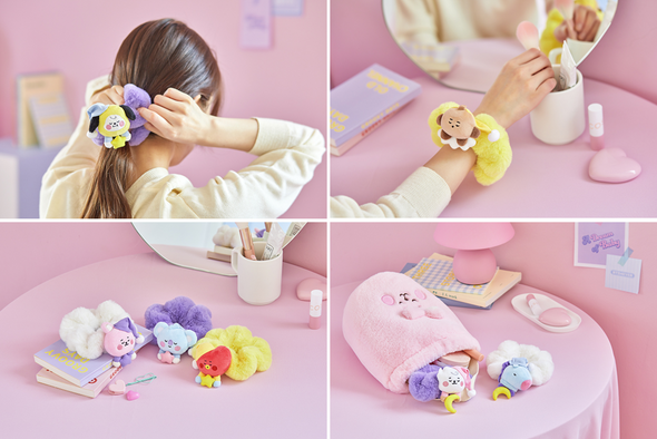 LINE FRIENDS BT21 BABY A DREAM OF BABY HAIR TIE