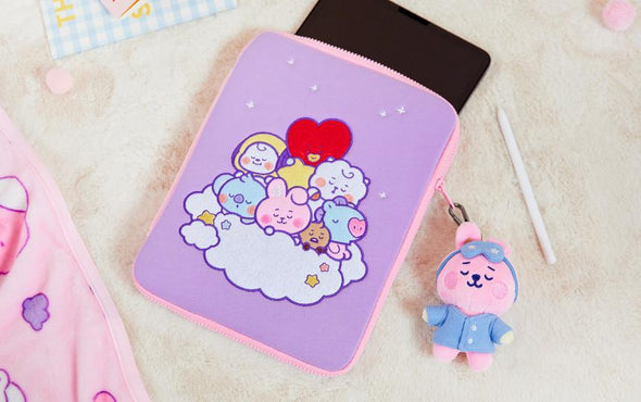 "LINE FRIENDS BT21 BABY A DREAM OF BABY LAPTOP POUCH (11"")"