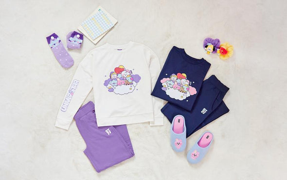 LINE FRIENDS BT21 BABY A DREAM OF BABY LOUNGE WEAR SET