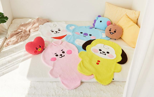 LINE FRIENDS BT21 BABY BOUCLE BLANKET
